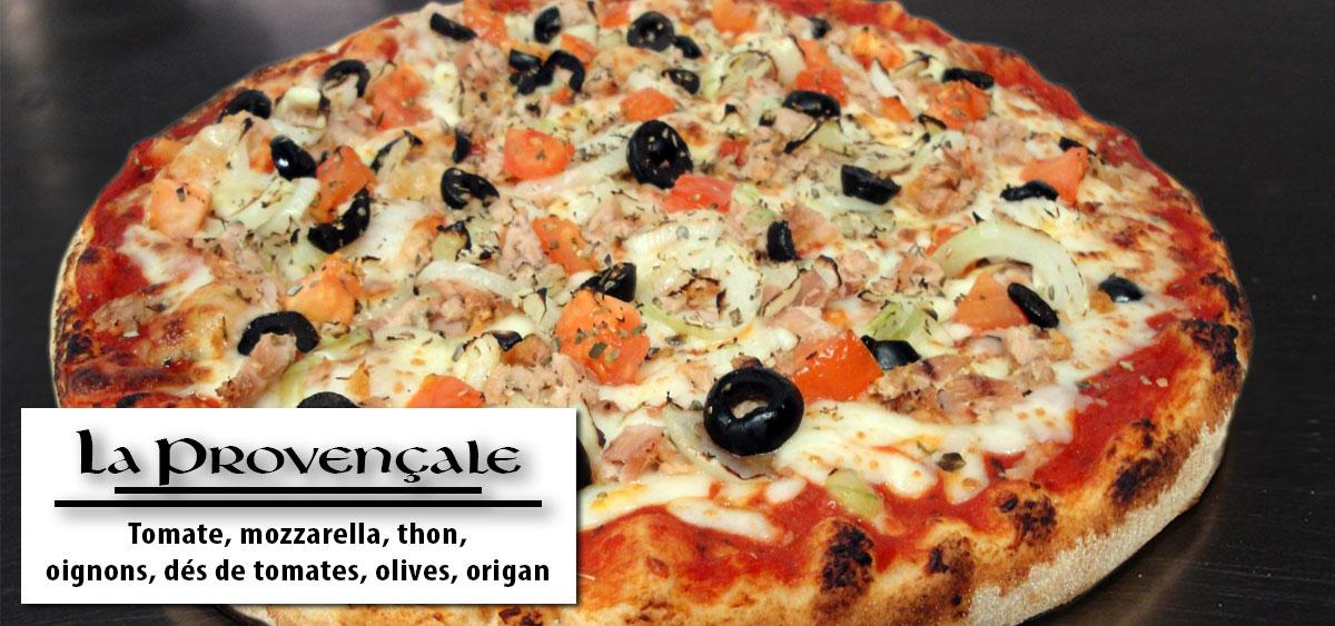 Provençale - Pizza vannes - Breton Pizza