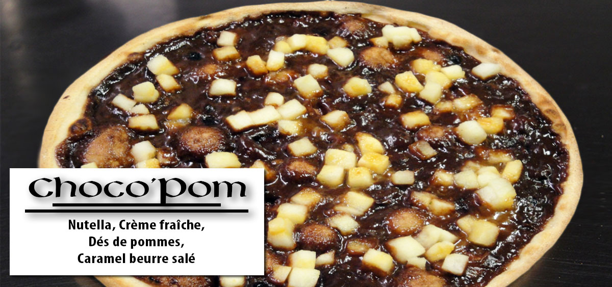 Choco'Pom - Pizza Noyal Chatillon - Breton Pizza
