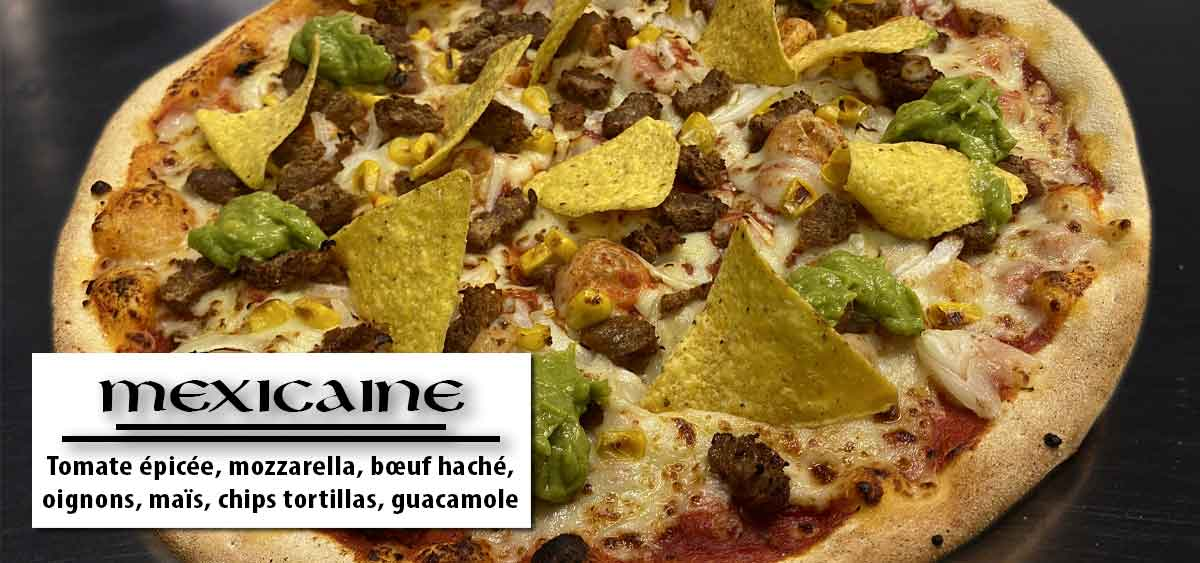 Mexicaine - Pizza vannes - Breton Pizza