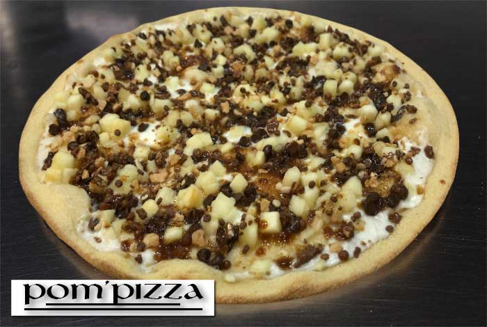 Pizza Choco'Pom Vannes