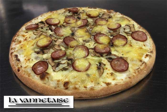 Pizza La Vannetaise Vannes